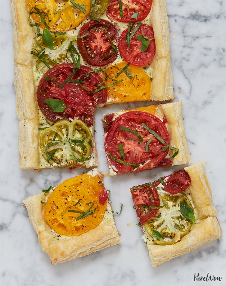 This Savory Tomato Tart Recipe Is Everything We Love About Summer