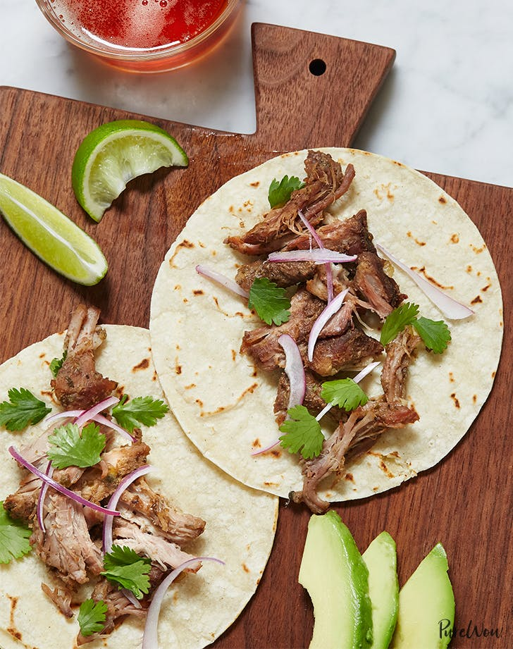 Slow Cooker Pork Carnitas Recipe Purewow
