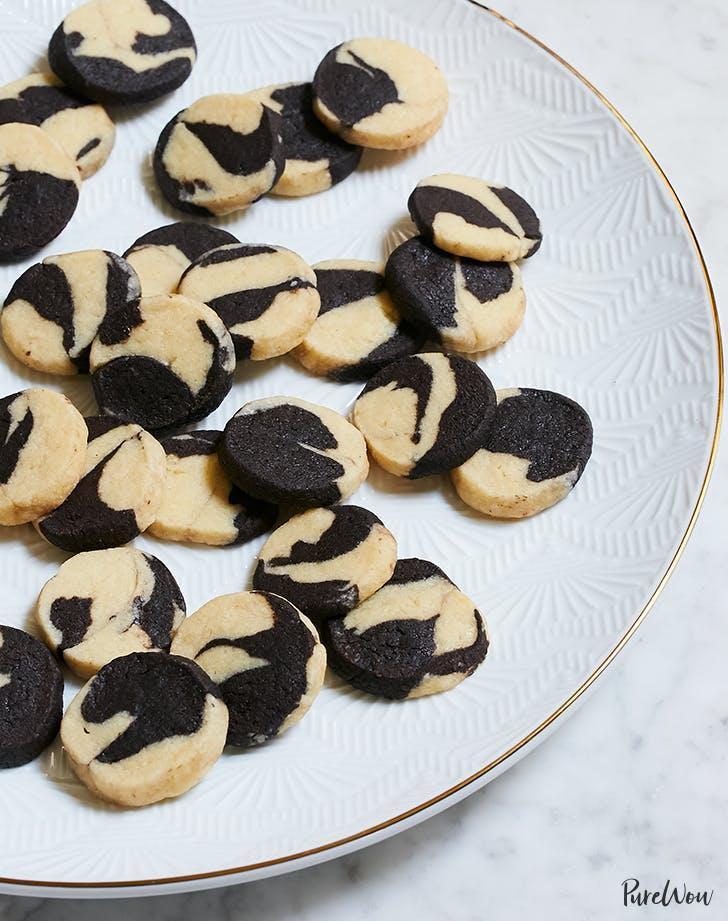 Vanilla-Chocolate Swirl Icebox Cookies