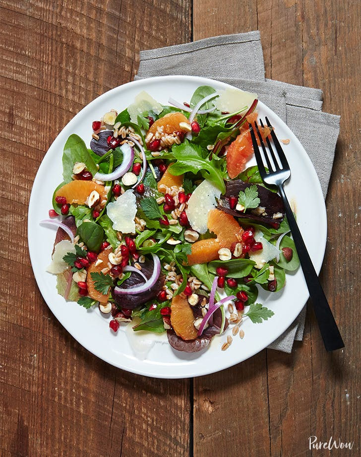 Winter Citrus and Pomegranate Salad