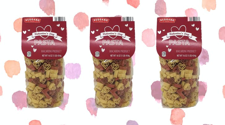 Valentine's Dinner Plans? Check, Thanks to Aldi's New Heart-Shaped Pasta
