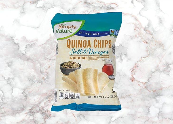 aldi simply nature quinoa chips