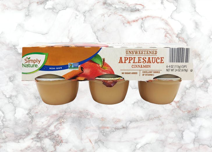 aldi simply nature unsweetened applesauce
