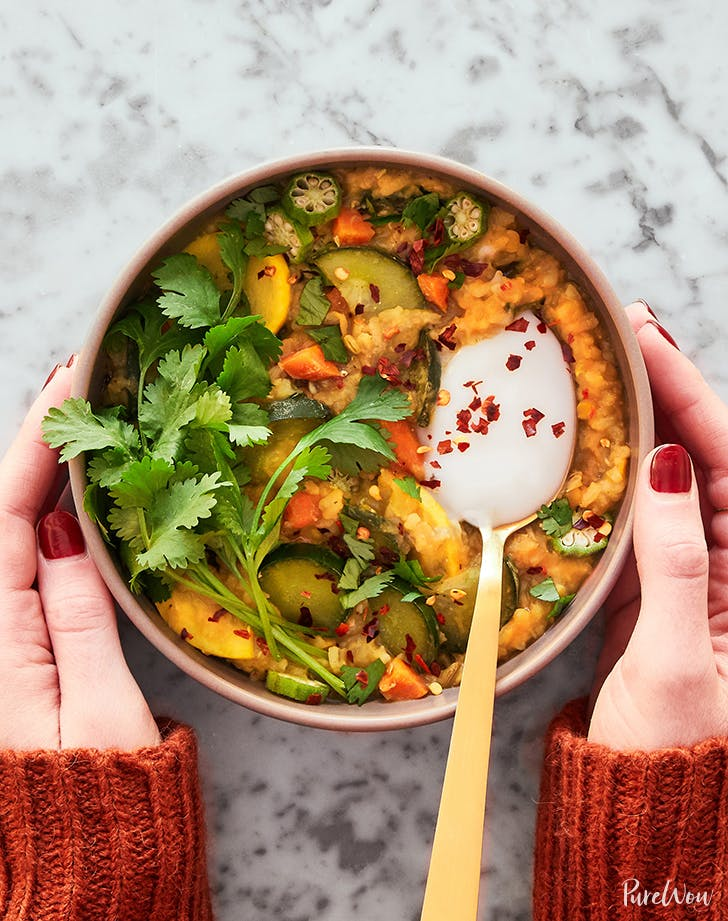 Easy Indian-Inspired Kitchari Bowls