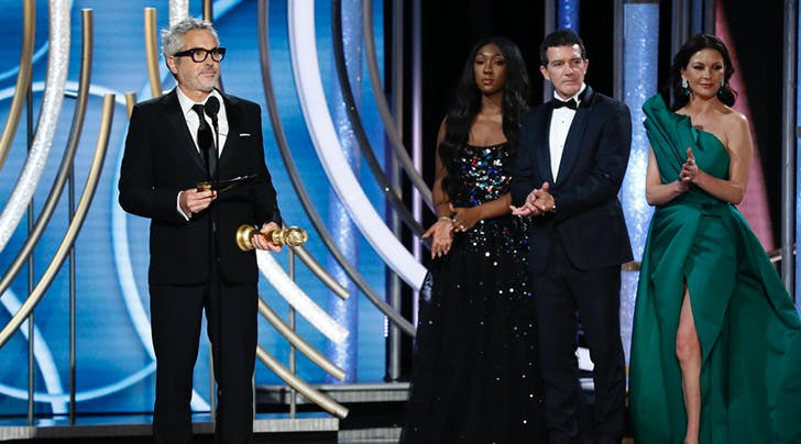 'Roma' Wins 2019 Golden Globe for Best Motion Picture, Foreign Language