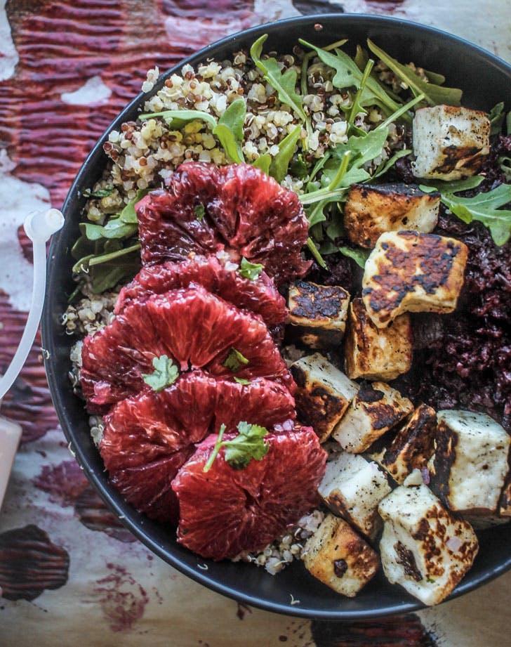 blood orange and beet buddha bowl recipe