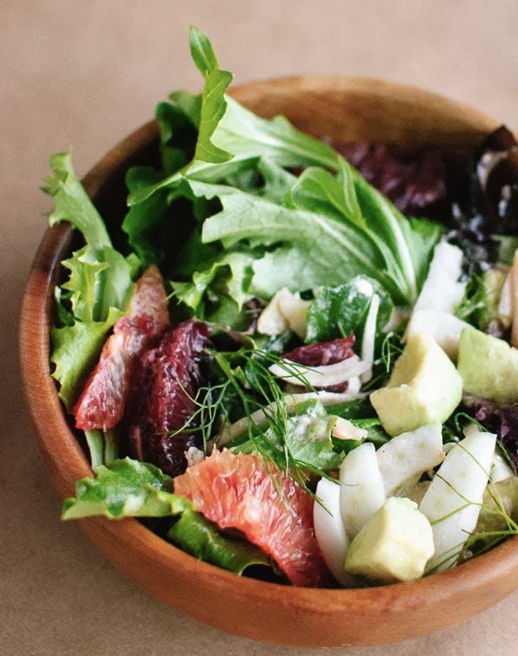 blood orange fennel and avocado salad with lemon citronette recipe