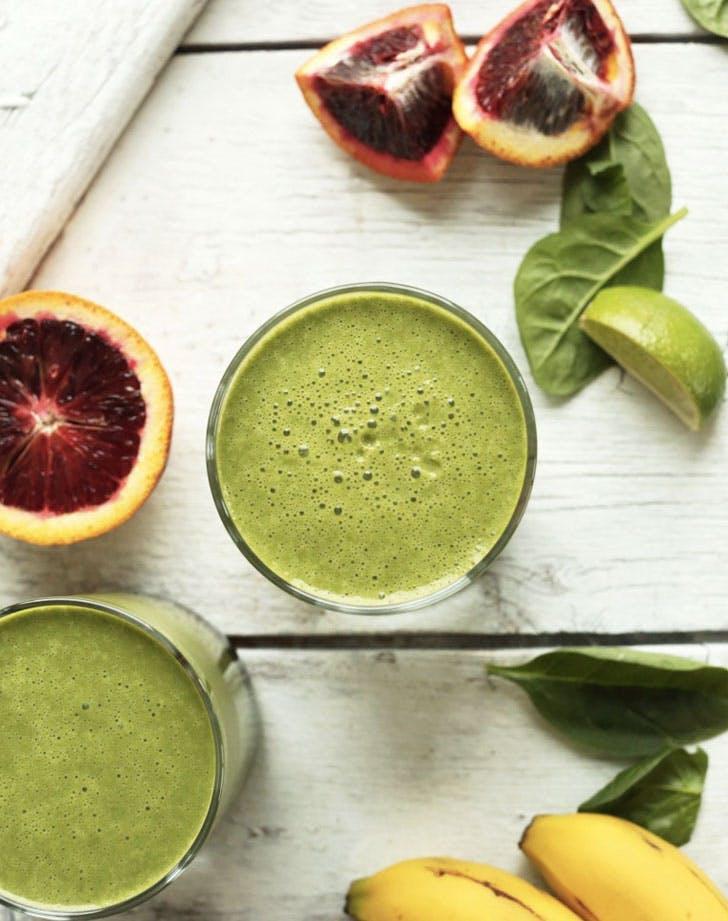 blood orange green smoothie recipe