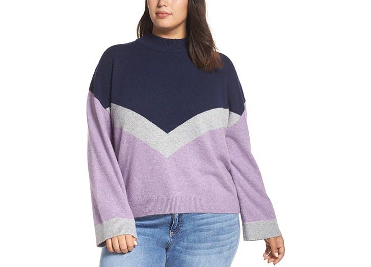 bp trendy colorblocked sweater