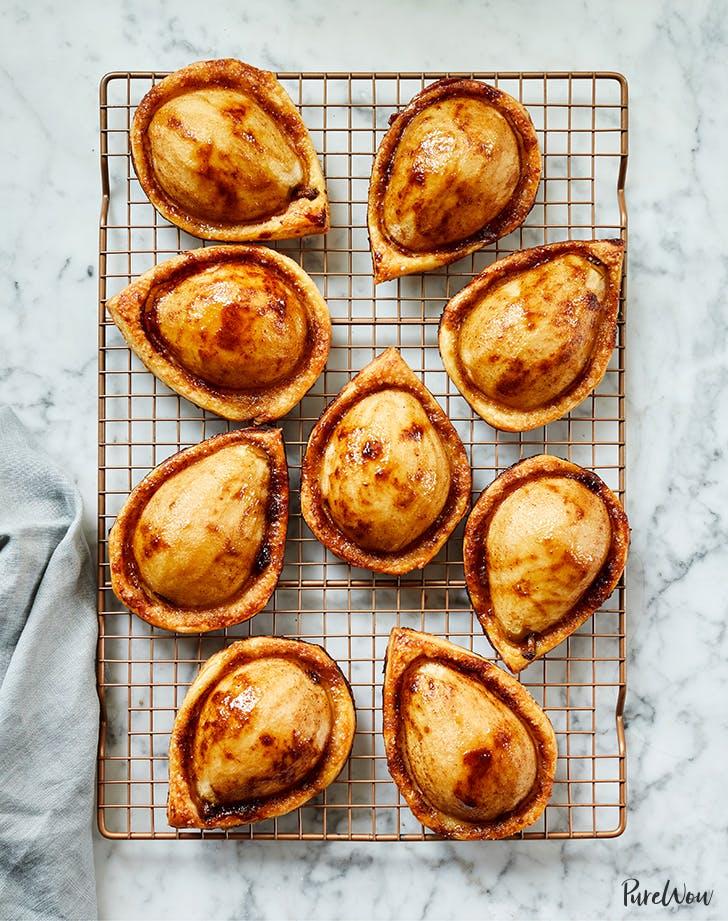 Brown-Sugar Pear Puff Pastries