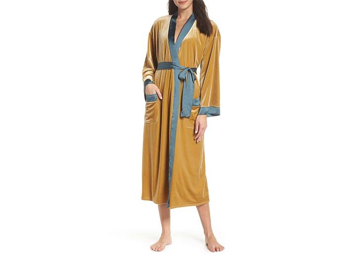 chelsea28 velvet robe pajamas