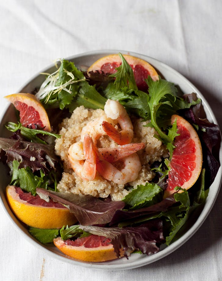 chili lime shrimp and quinoa salad recipe