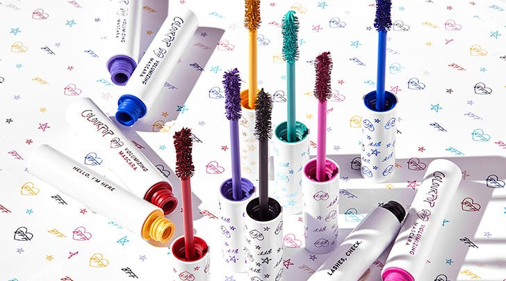 ColourPop Just Launched Its First-Ever Mascara—in 7 Colors, No Less