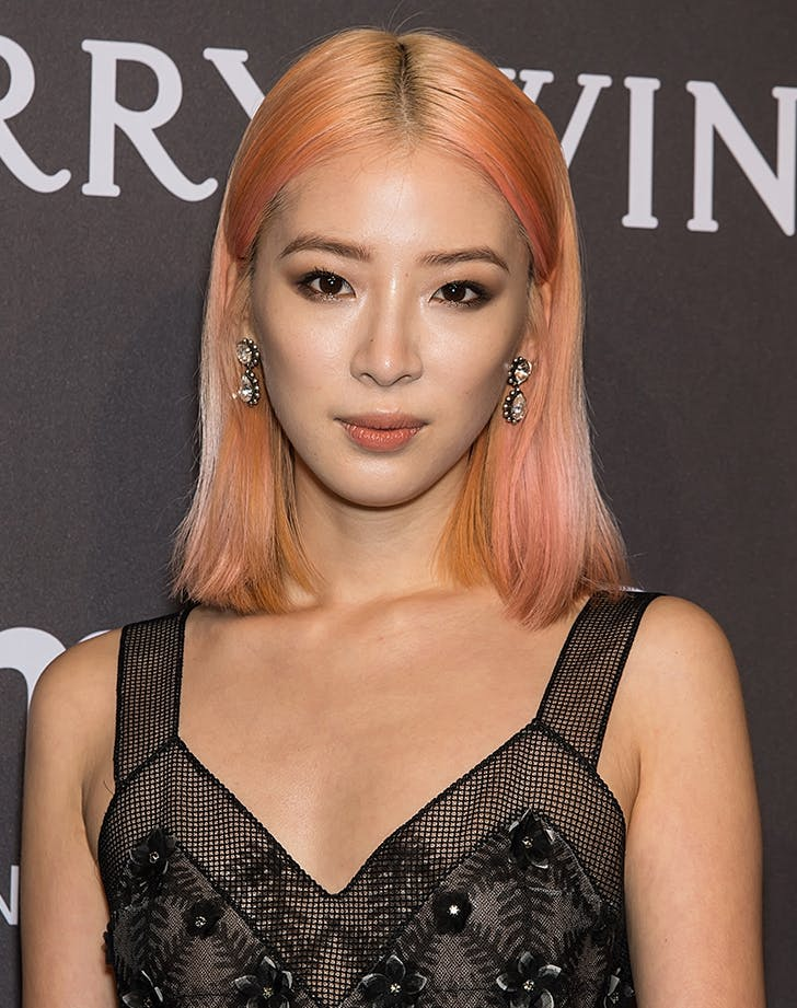 coral hair color