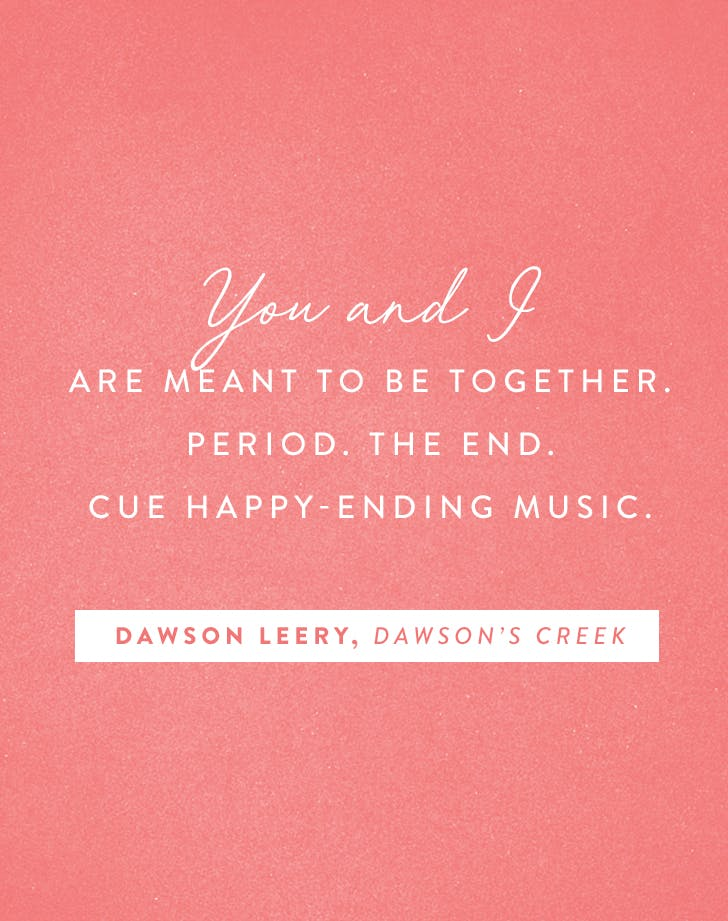 dawson leery vanetines day quote
