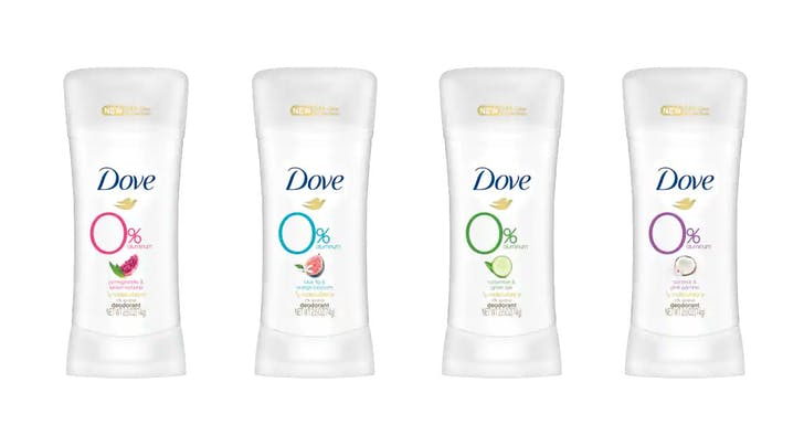 Dove Just Launched Its First Aluminum-Free Deodorant, and Can We Get a Sniff Check?