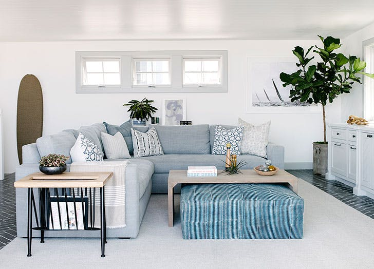 floating furniture grey