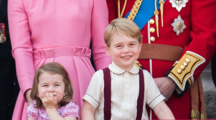 George and Charlotte Were Up at the Crack of Dawn on Christmas, According to Kate Middleton