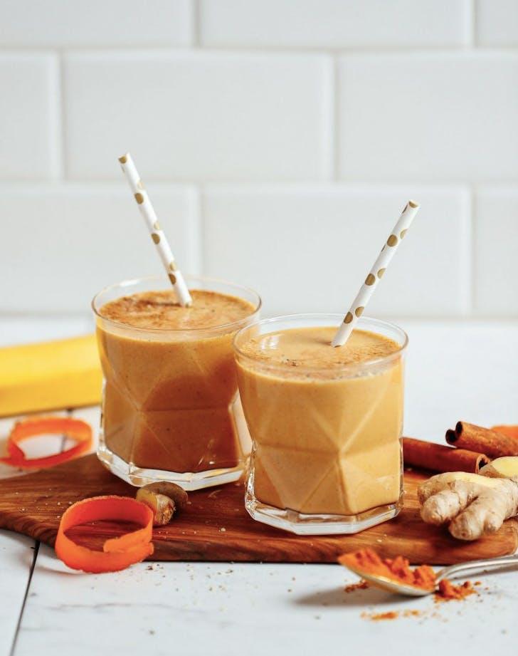 golden mylk smoothie recipe