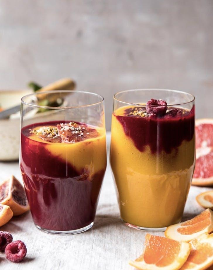 immune boosting winter citrus smoothie recipe