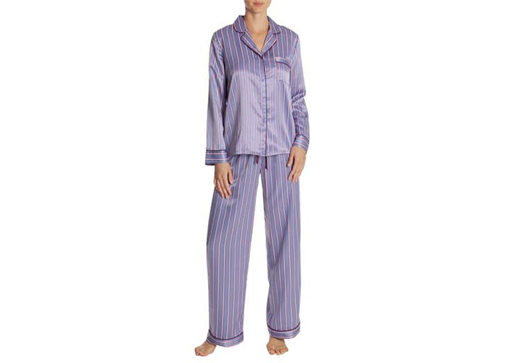 in bloom striped pajamas