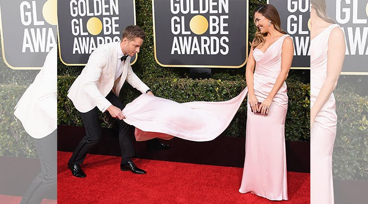 Justin Hartley Just Did His TV Dad Proud on the Golden Globes Red Carpet