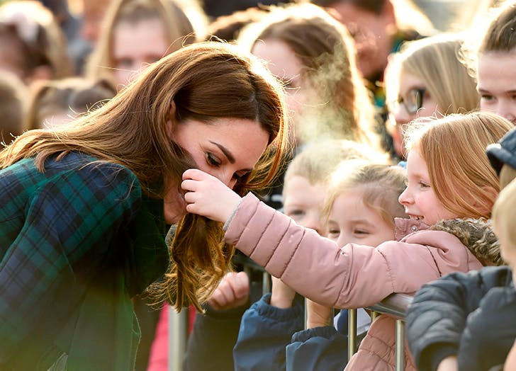 kate middleton hair touch dundee scotland
