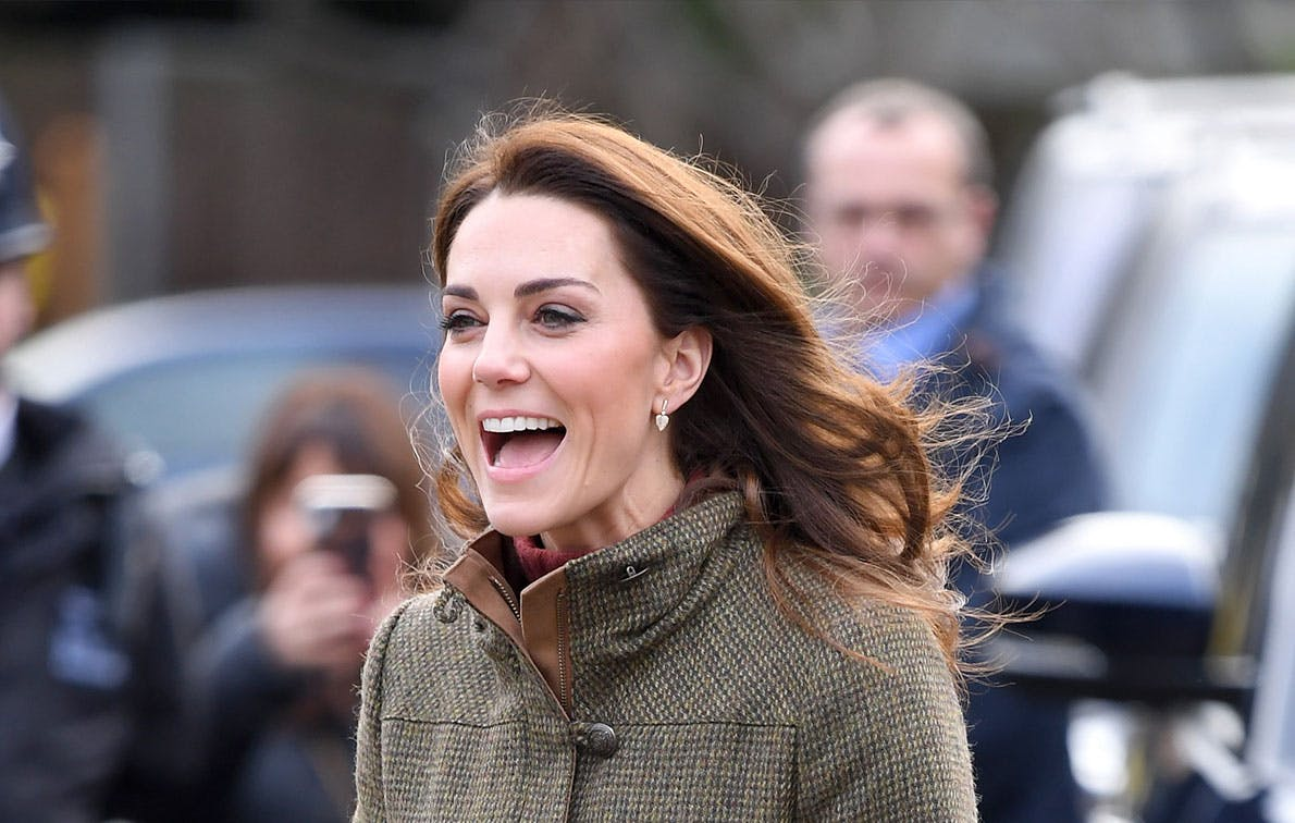 Kate Middleton Is the Queen of Combat Boots During Her Latest Outing
