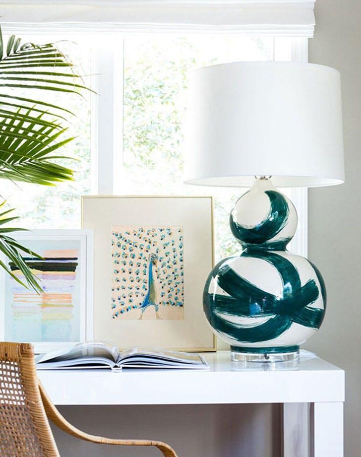 lamp on desk pretty