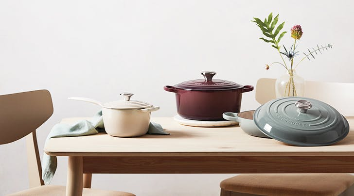 Le Creuset Launches Not 1 but *3* New Colors for Spring