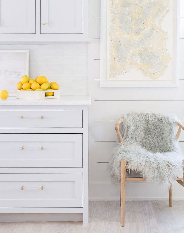 lemons on counter