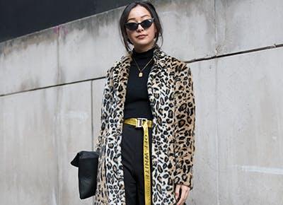 leopard print coat 400