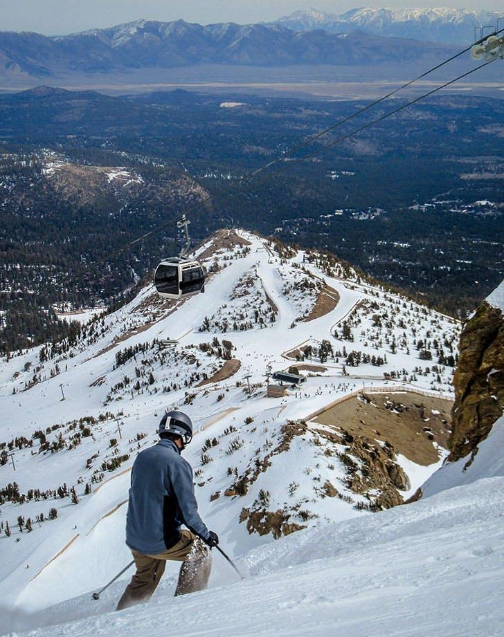mammoth mountain ski area california