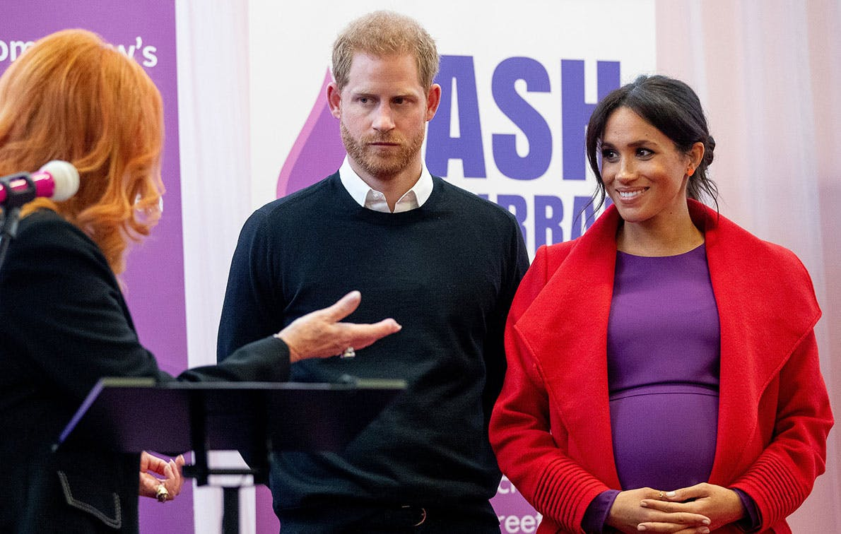 What's the Deal with Meghan Markle Not Wearing Maternity Clothing?