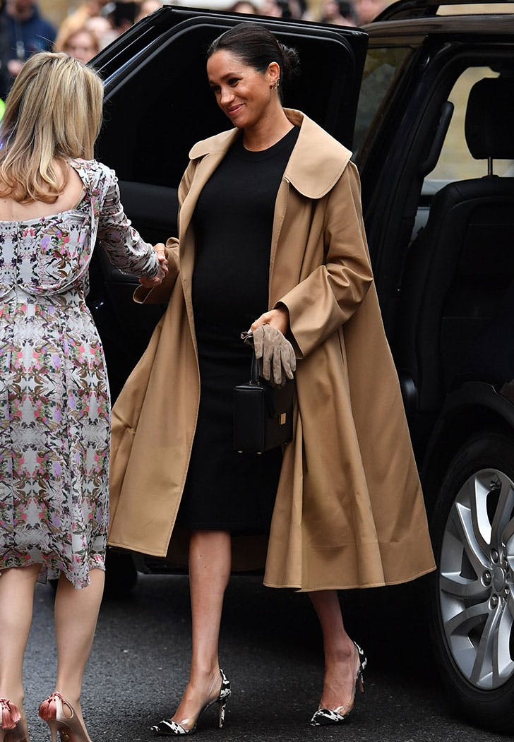 meghan markle hatch dress vert