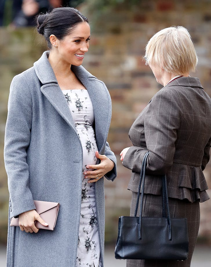 The Wardrobe Staple in Meghan Markles Closet That Helps Minimize Her Growing Baby Bump