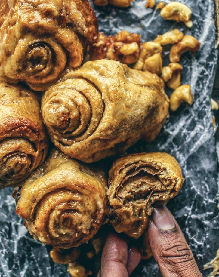 miso brown sugar cashew buns recipe