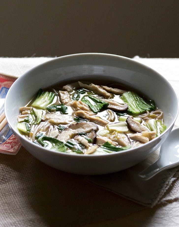miso chicken noodle soup recipe
