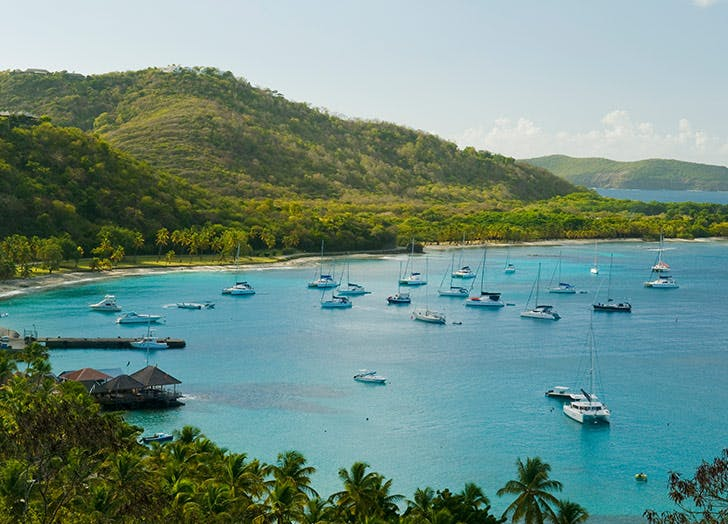 mustinique island