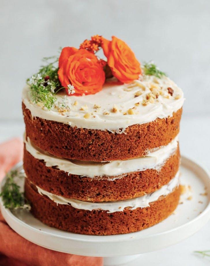 one bowl vegan naked carrot cake