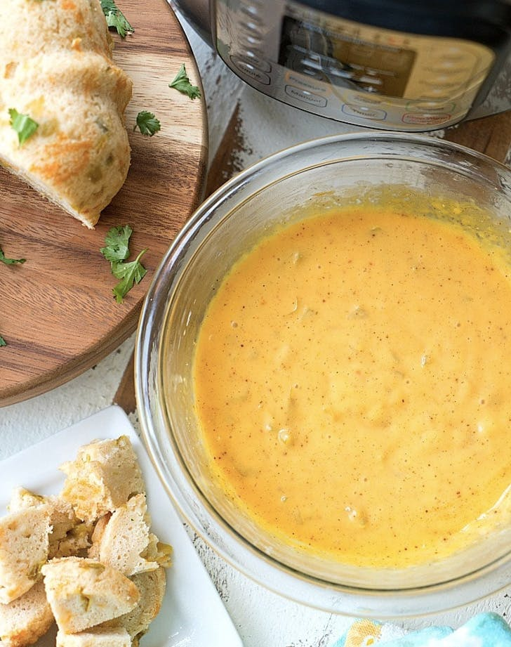 pressure cooker cheese fondue recipe