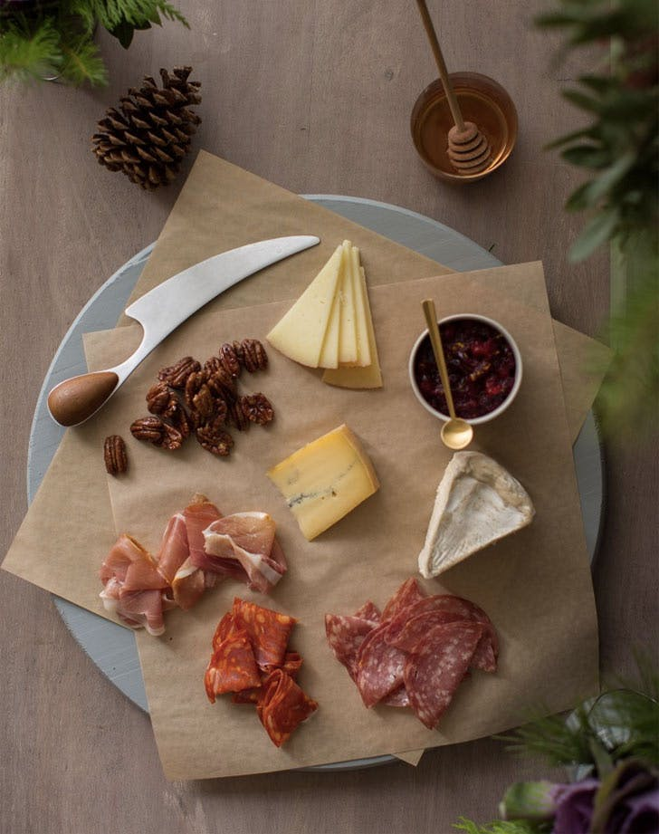 quick charcuterie board for two