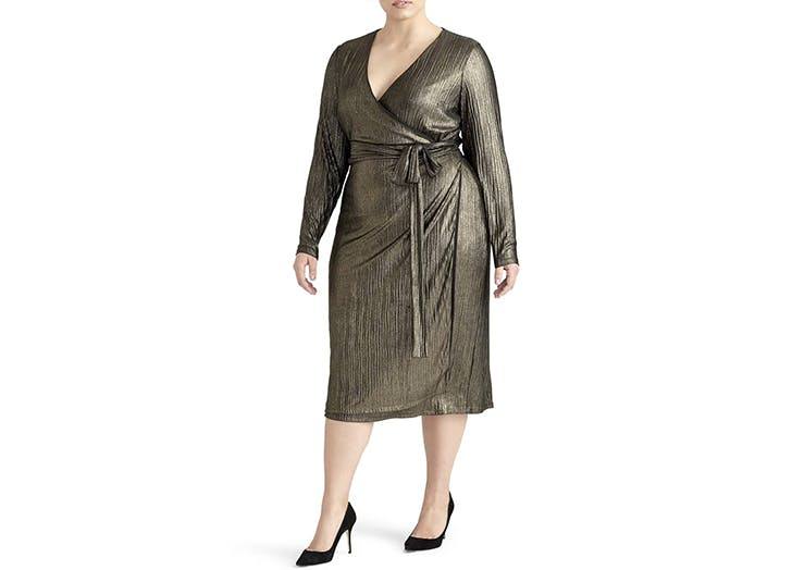 rachel roy wrap dress