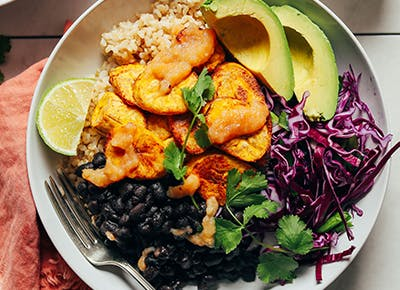 recipes using leftover beans and rice 400