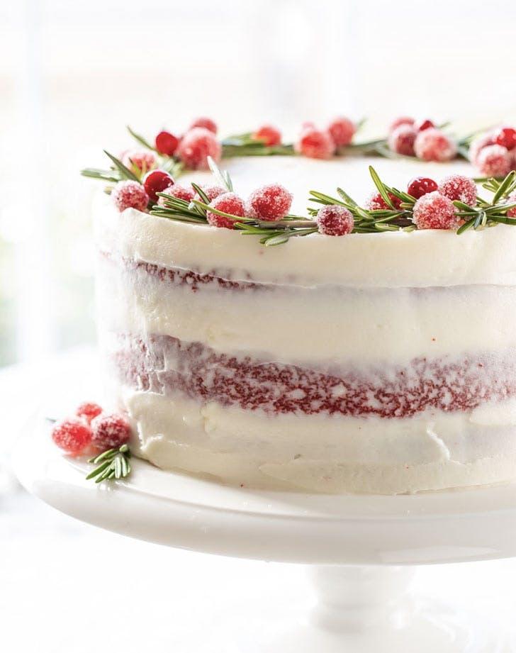 Astonishing 13 Gorgeous Naked Cake Recipes Purewow Funny Birthday Cards Online Elaedamsfinfo