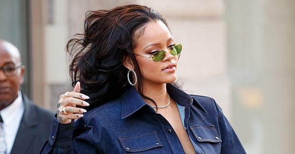 RiRi Fashion Leak: Superfans Just Caught Rihanna Wearing Fenty (Yep!) Sunglasses