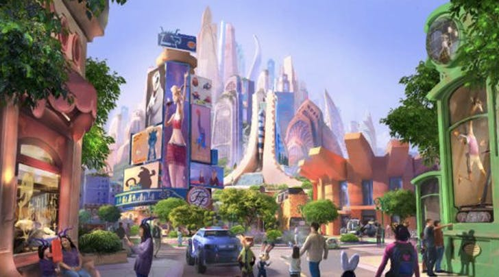 Pack Your Bags: Shanghai Disney Just Announced a New Zootopia Land