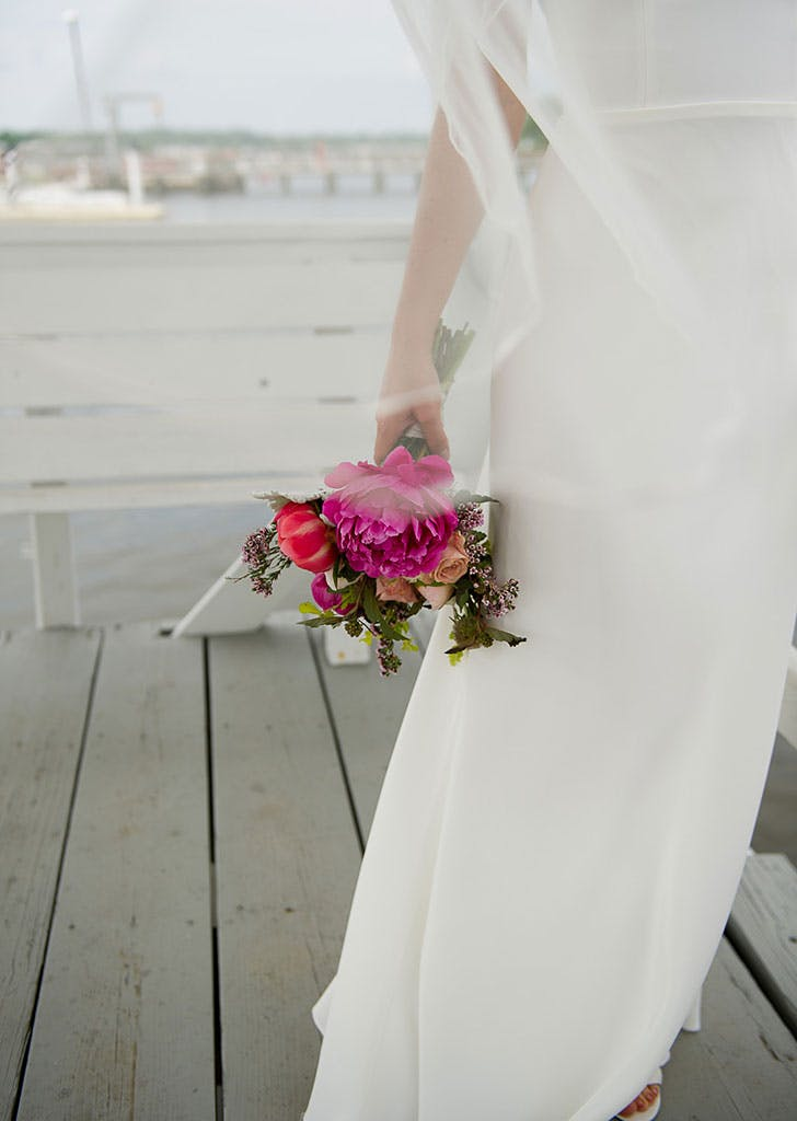 simple seaside wedding 15