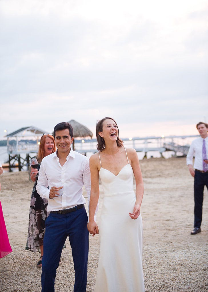 simple seaside wedding 2