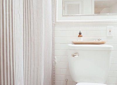 simple white bathroom 400